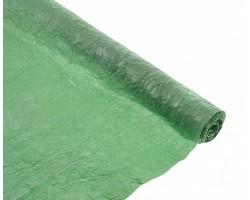 Бумага жатая с серебром 70-75см*5м зеленый