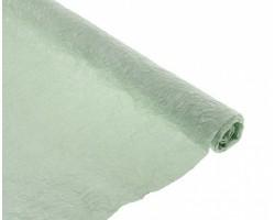 Бумага жатая с серебром 70-75см*5м фисташковый