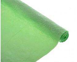 Бумага жатая с серебром 70-75см*5м лайм