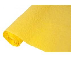Бумага жатая влагостойкая однотонная 70-75см*5м желтый