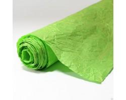 Бумага жатая влагостойкая однотонная 70-75см*5м салатовый