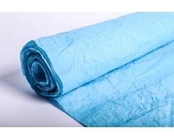 Бумага жатая влагостойкая однотонная 70-75см*5м голубой