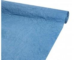 Бумага жатая влагостойкая однотонная 70-75см*5м синий
