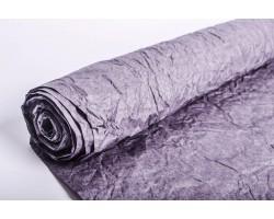 Бумага жатая влагостойкая однотонная 70-75см*5м темно-серый