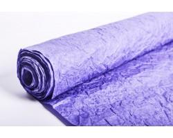 Бумага жатая влагостойкая однотонная 70-75см*5м ярко-синий