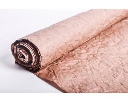 Бумага жатая влагостойкая однотонная 70-75см*5м коричневый