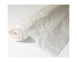 Бумага жатая влагостойкая однотонная 70-75см*5м белый