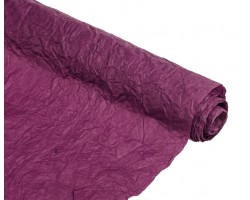 Бумага жатая влагостойкая однотонная 70-75см*5м фиолетовый