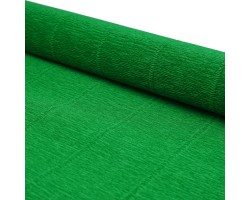 Бумага гофрированная простая 180гр 563 зеленая