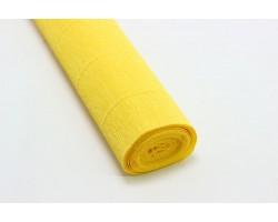 Бумага гофрированная простая 180гр 578 желтый