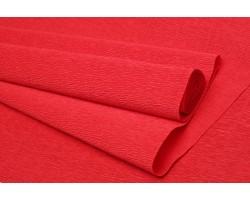 Бумага гофрированная простая 180гр 618 глубокий красный