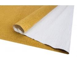 Бумага гофрированная металл 140гр 911 золотая