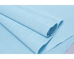 Бумага гофрированная простая 180гр 20Е3 небесно-голубой