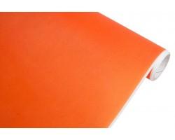 Бумага белая крафт 40гр/м2 70см*10м тонировка оранжевый