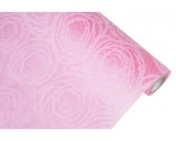 Фетр Круговорот ламинированный 3D 60см*10м малиновый