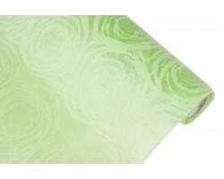 Фетр Круговорот ламинированный 3D 60см*10м салатовый