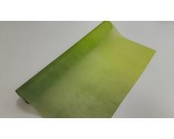 Упак.материал 50см*12м фетр с переходом зеленый+салатовый