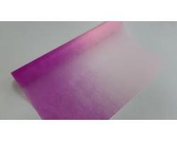 Упак.материал 50см*12м фетр с переходом пурпурный+розовый