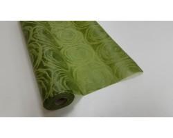 Упак.материал фетр 3D ламинированный 50см*10м Circle темно-зеленый