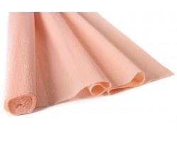 Бумага гофрированная простая 180гр 17A/5 персиковый