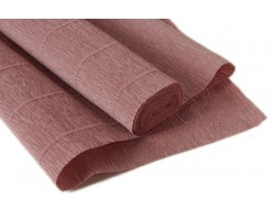 Бумага гофрированная простая 180гр 17E/1 серо-розовая