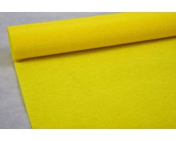 Бумага гофрированная простая 180гр 575 лимонная
