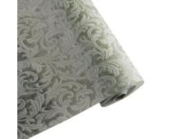 Упак.материал ламинированный фетр 3D Swirl 50см*10м зеленый