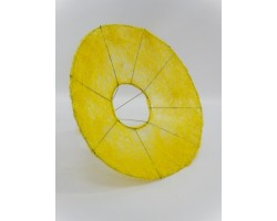 Каркас для букета (сизаль) гладкий 25см желтый