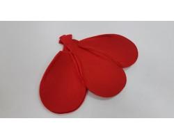 Каркас для букета Цветок (войлок) 30см красный