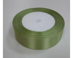 Лента декоративная 25мм*22м атлас одностор.нежно-зеленый 5500010867851