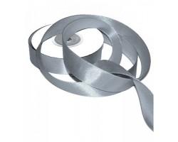 Лента атлас-сатин 20/03 2,0см*20м серый