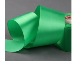 Лента атласная 50мм*25ярд №130 зеленый арт.1218417