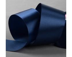 Лента атласная 50мм*25ярд №81 темно-синий арт.1218432