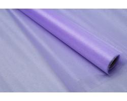 Органза-снег 70см*9м светло-фиолетовый арт.77034