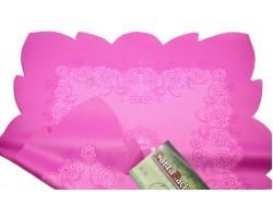 Салфетка CartaPack Эмели (упак.50шт) розовый+малиновый