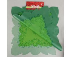 Салфетка CartaPack Эмели (упак.50шт) салатовый+зеленый