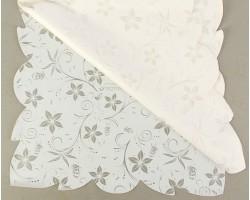 Салфетка CartaPack M1 Ботаника (упак.50шт) белый