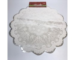 Салфетка D60cm Мальвина белый