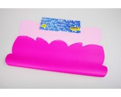 Салфетка Эко 2-х цветная (упак.50шт) малиновый+розовый