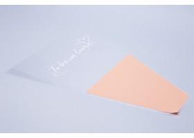Конус To be in love 40/50 (упак.50шт) пастельный оранжевый