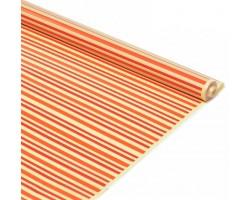 Пленка CartaPack Verona 70см кремовый+оранжевый+красный
