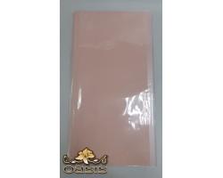Набор однотонной матовой пленки с перламутром 58*58см (20лист) розовый 5500012978724