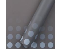 Пленка Bobs 60см*10м (Корея) бледно-серый+голубой