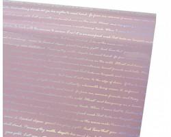 Пленка Alphabet Laser 58см*5м розовый