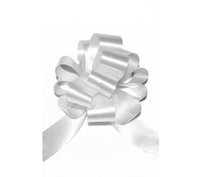 Бант шар 321/00 32мм однотонный белый шт