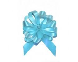 Бант шар 181/01-50 18мм однотонный голубой шт.
