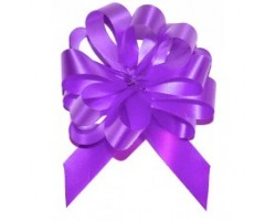 Бант шар 181/01-65 18мм однотонный фиолетовый шт.
