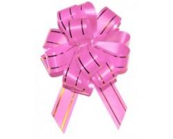 Бант шар 183/01-61 18мм с золотой полосой розовый шт.