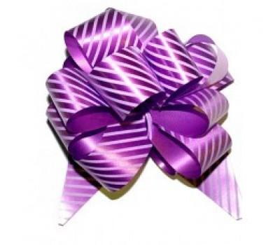 Бант шар 322/04-67 32мм полосы фиолетово-сиреневые шт.