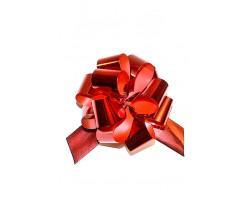 Бант шар 324/20 32мм металл красный шт.
